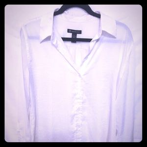 INC International Concepts Tops - White silky blouse